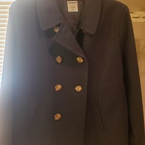Old navy Pea coat dark blue